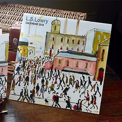Calendrier 2018 L.S. Lowry